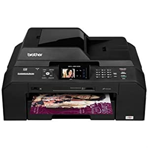 Brother Printer MFC-J5910DW Wireless Color Photo Printer