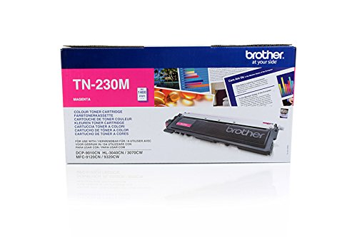 Brother DCP-9010 CN - Original Brother TN-230M - Cartouche de Toner Magenta - 1400 pages