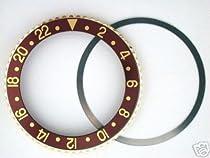 Bezel & Insert for Rolex GMT 18ky 1670/1675 Brown Parts