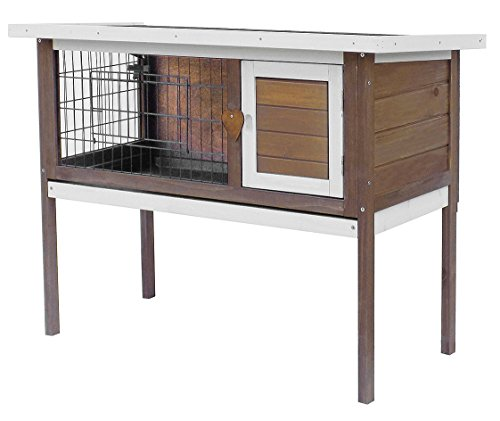 36-Pet-Rabbit-Bunny-Wood-House-Hutch-Chicken-Coop-with-removableTray