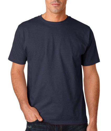 Anvil Eco-Friendly Adult Anvil Organic Tee A420 - Navy_L front-214255