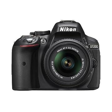 Nikon D5300 24.2MP CMOS Digital SLR Camera with 18-55mm f/3.5-5.6G ED VR II AF-S DX Lens