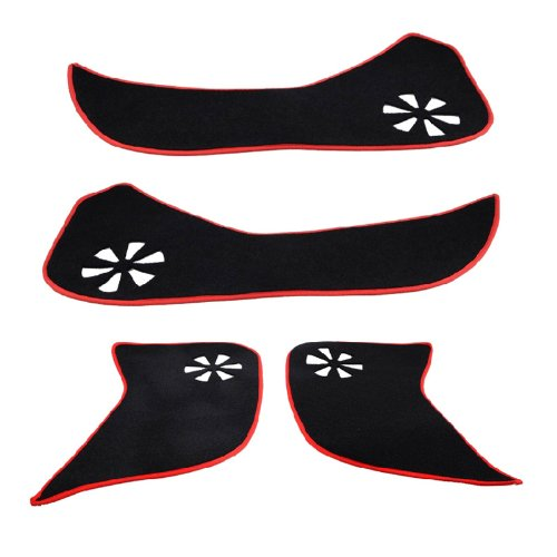 Manso High Quality For Mazda 12 13 CX-5 CX5 2012 2013 Door Protection Pad 4pcs/lot Auto Parts Accessories
