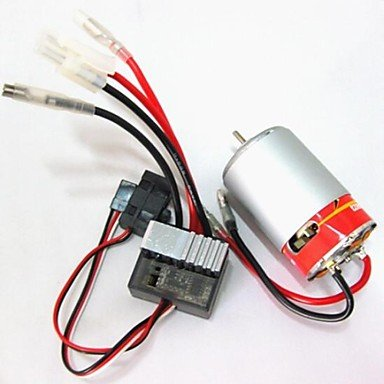 Zcl Hsp 10050 320A Brush Esc+550Motor 03011 Rs550 26 Turn For 1/10 Rc Model Car Brushed Electric Engine Brush Motor Powerful
