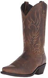 Laredo Men\'s Willow Creek Boot,Tan Crazyhorse,10 D (M) US