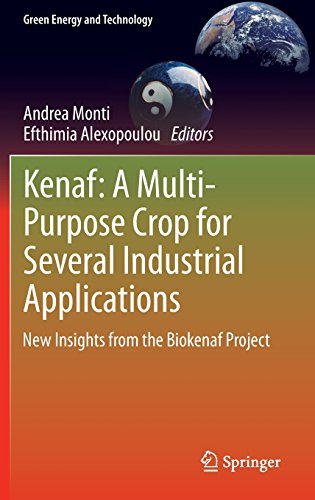 Kenaf: A Multi-Purpose Crop for Several Industrial Applications: New insights from the Biokenaf Project (Green Energy an
