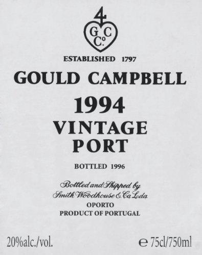 Symington Family Estates 1994 Gould Campbell Vintage Port 750 mL