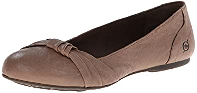 Born Womens 'Chesire' Slip-On Shoe, Taupe, US 5