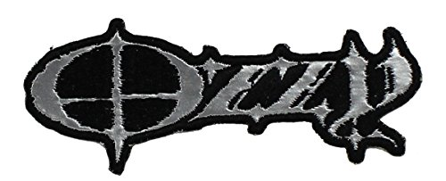 Application Ozzy Logo Chrome Patch