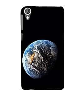 EPICCASE The World Mobile Back Case Cover For HTC Desire 820 (Designer Case)
