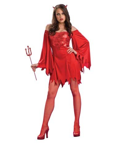 Rubies Costume Co Women's Lucifers Lady Costume