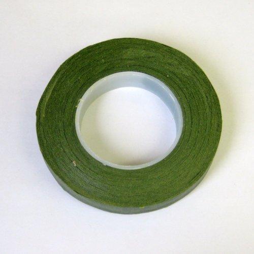 フローラテープ モスグリーン 幅12mm×長さ27m