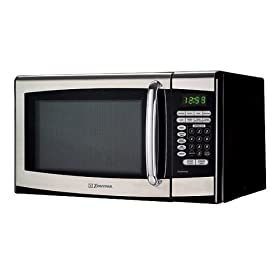 Emerson 0.9 Cu. Ft. 900 Watt Stainless Microwave Oven - Stainless Steel