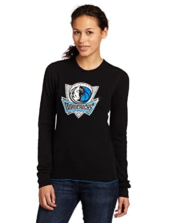 Majestic Threads Dallas Mavericks Baby Thermal, Black by Majestic Threads
