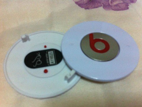 Replacement Part Battery Cover For Monster Beats Dre Headphone Studio White