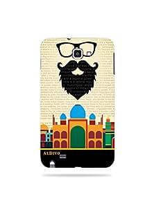 alDivo Premium Quality Printed Mobile Back Cover For Samsung Galaxy Note 1 / Samsung Galaxy Note 1 Back Case Cover (MKD312)