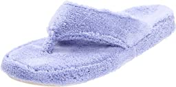ACORN Women\'s New Spa Thong Slipper,Periwinkle,Medium/6.5-7.5 M US