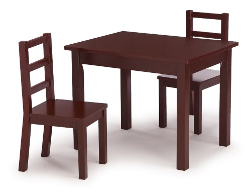 Discount Tot Tutors Kidsu0027 Table and Chair Set Espresso Wood  sc 1 st  toddler table and chairs - Blogger & Save On Tot Tutors Kidsu0027 Table and Chair Set Espresso Wood ...