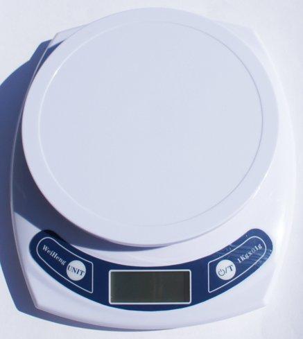 Électroniques Poids / Postal / Balance de cuisine, blanc, 1000G X 0.1G