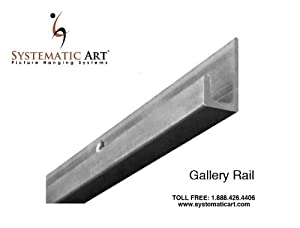 Gallery Picture Rail 72 Quot Natural Mill Finish By