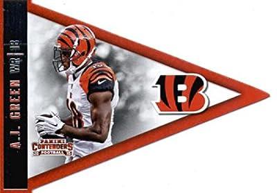 2015 Panini Contenders Pennants #32 A.J. Green Cincinnati Bengals Football Card-MINT