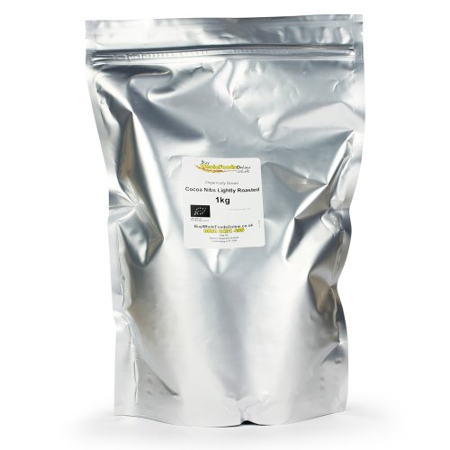 Organic Cocoa Nibs (Lightly Roasted) 1kg