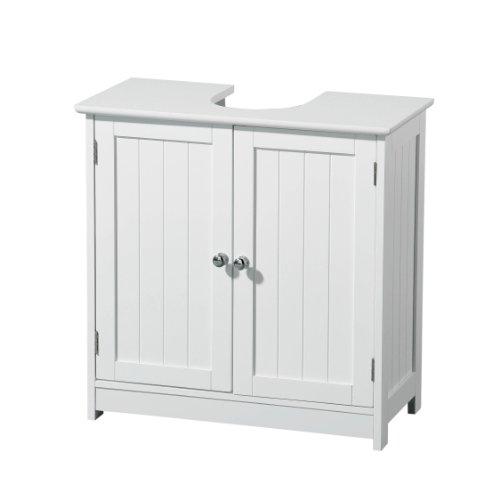 Premier-Housewares-Mueble-para-debajo-del-lavabo-madera-2-puertas-color-blanco