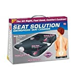 Seat Solution Deluxe Orthopedic Seat Cushion ~ Ontel