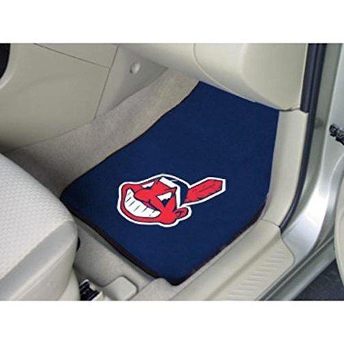 major-league-baseball-cleveland-indians-2-piece-carpeted-car-mats-18x27-by-fanmats