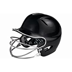 Easton Natural Tee Ball Batting Helmet with Mask, Black by Easton