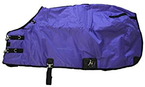 420D Medium Weight Horse Blanket Purple, 75