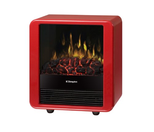 Dimplex Mini Cube Electric Stove, DMCS13R, Red (Dimplex Cube Heater compare prices)