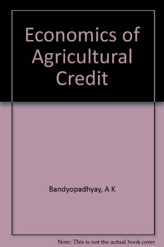 economics-of-agricultural-credit