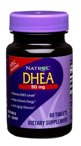 DHEA 50mg 60タブレット (海外直送品)