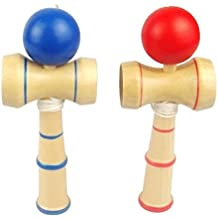 Generic Sword Ball Professiona Size 15*6.5Cm Funny Traditional Wooden Game Toy Kendama Ball Ht502