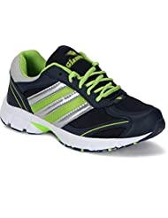 Glamour Black Green Sports Shoes (ART-7511)