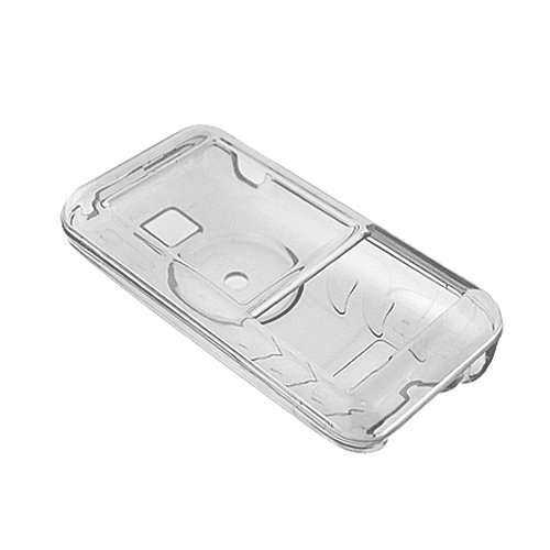 Creative Zen Mozaic MP3 Player Accessory - Clear Crystal Hard Case Cover with Belt Clip