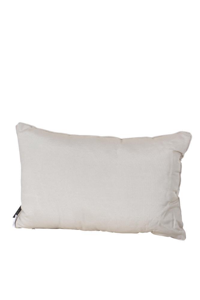 MADISON Dessin Panama Linnen Zierkissen, Dekokissen, Couchkissen, Loungekissen aus Cotton/Polyester, 40 x 60 cm