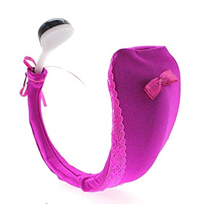 HuntGold Women Remote Control Vibrating Panties C-string Underwear Vibrator Random Color
