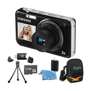 Samsung PL120 14MP Dualview Black Digital Camera
