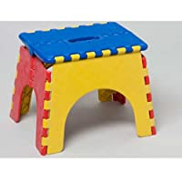 Folding Kiddie Seat Stool Toy Chair Bench Kid Toddler Play Children Game Fun Art