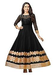 Starword Beautiful Heavy Gold Patta Semi stiched Dress Material High Qualitty
