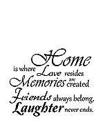 Ambiance Sticker Vinilo Decorativo Home, Love And Laughter