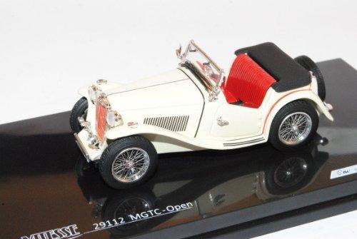 MG TC Creme Beige Cabrio Offen 1945-1950 1/43 Vitesse Modell Auto