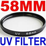58mm UV Filter Lens for Canon Rebel X...