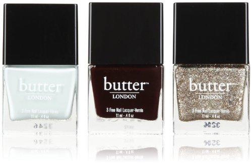 【並行輸入品】butter LONDON Bespoke Trio Nail Lacquer Whistle and Flute