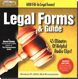 600 Legal Forms & Guide