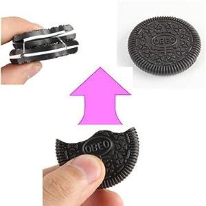 Cookie Fake Biscuit Close Up Magic Trick Funny Bitten Restored Gimmick