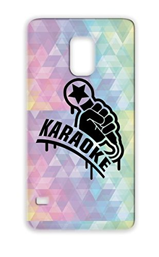 Mic Music Superstar Rap Miscellaneous Karaoke King Concert Rock Microphone Hand Hiphop Black Karaoke1 F1 Case Cover For Sumsang Galaxy S5