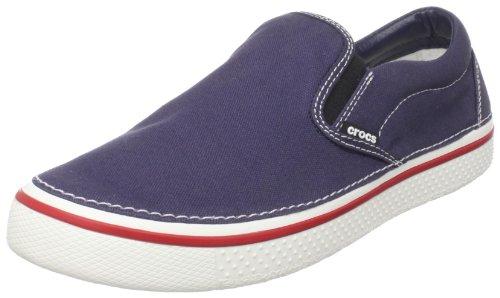 [クロックス] crocs Hover Slip On 11291-462-250 Navy/White(ネイビー/ホワイト/M9/W11)
